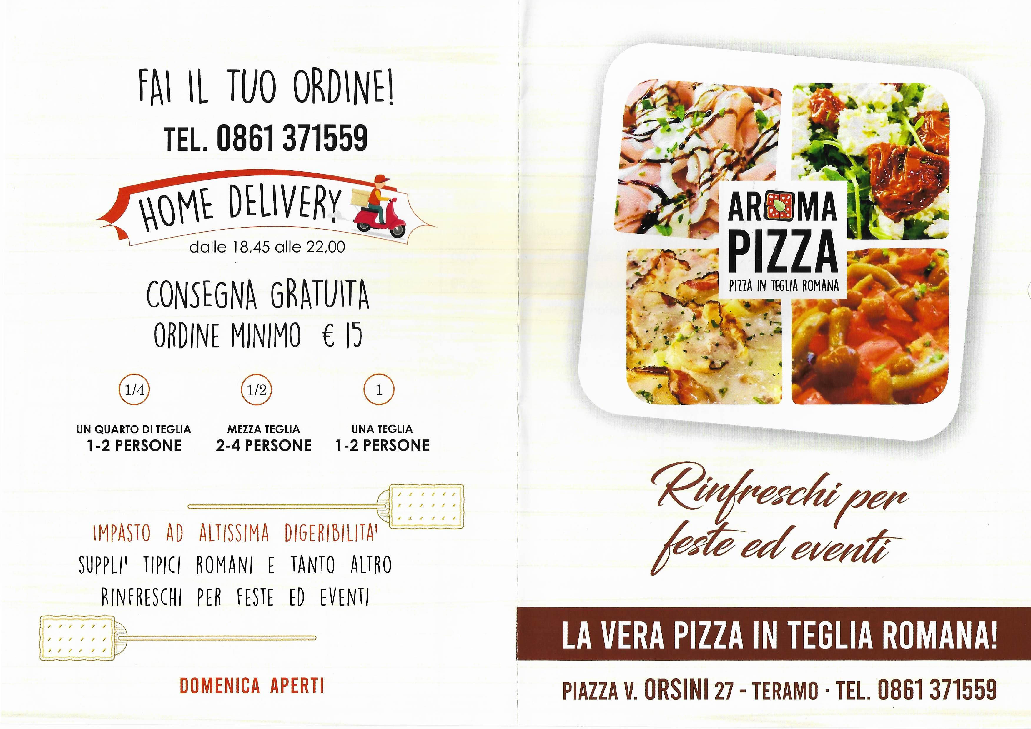 aroma pizzeria teramo