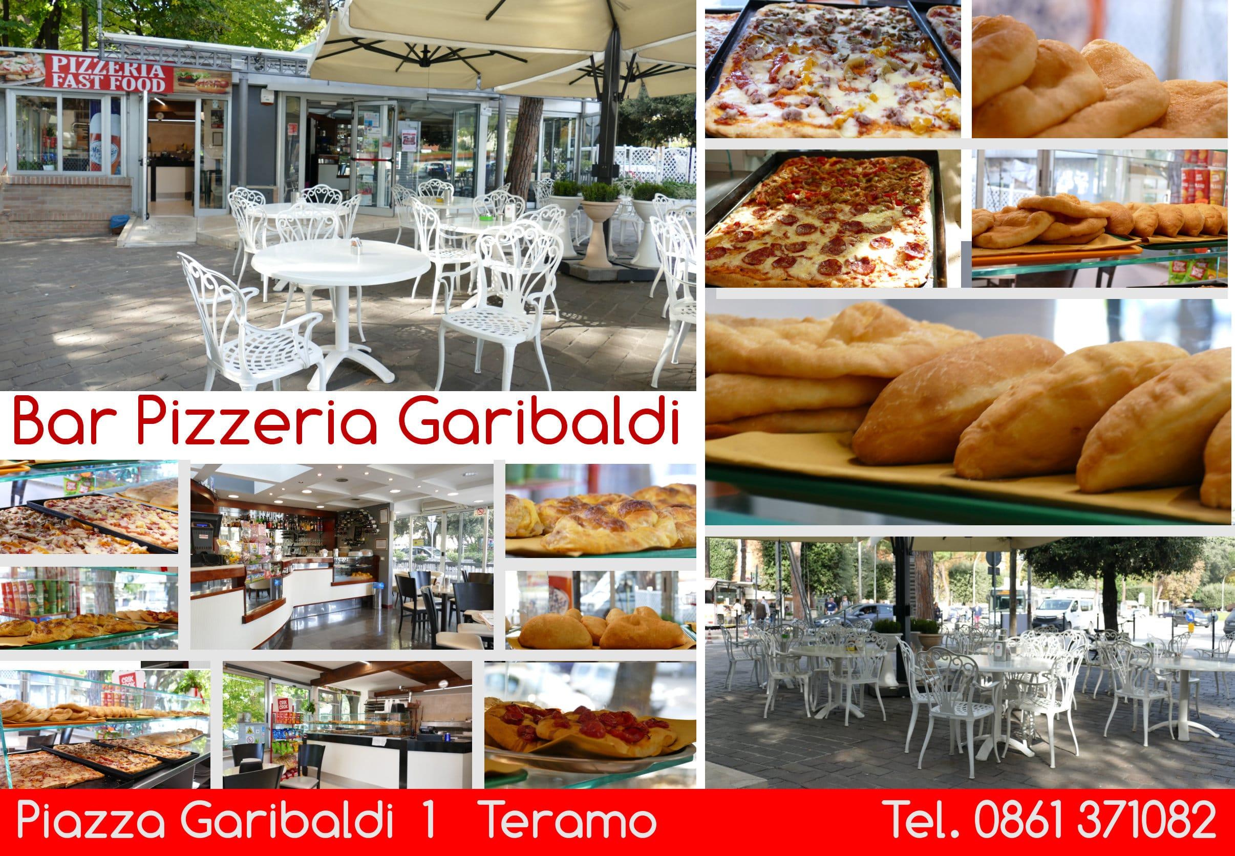 Bigliettino Bar Pizzeria Garibaldi