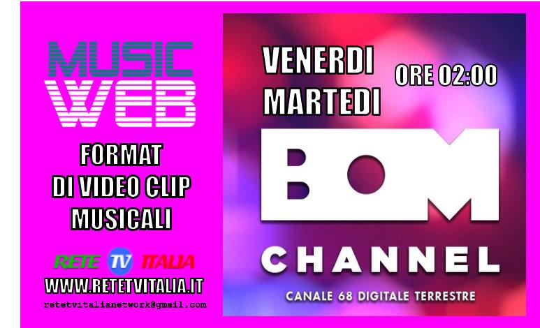 Music Web in onda su BOM Channel canale 68 Dgt