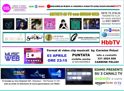MUSIC WEB 21 PUNTATA