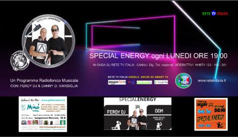 locandina Specialenergy su RETE TV ITALIA