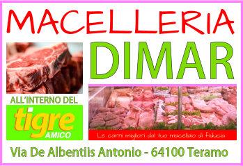 Macelleria Dimar logo disegnato da Carmine Peluis di RETE TV ITALIA