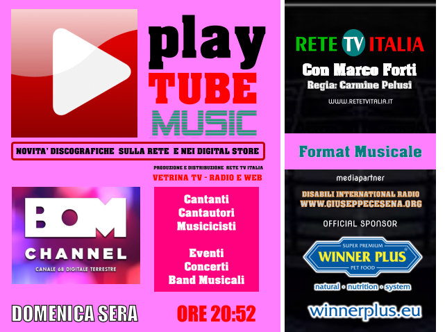 Play Tube Music Bom Channel Banner