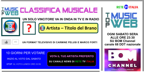 TOP MUSIC WEB PER SITO RETE TV ITALIA